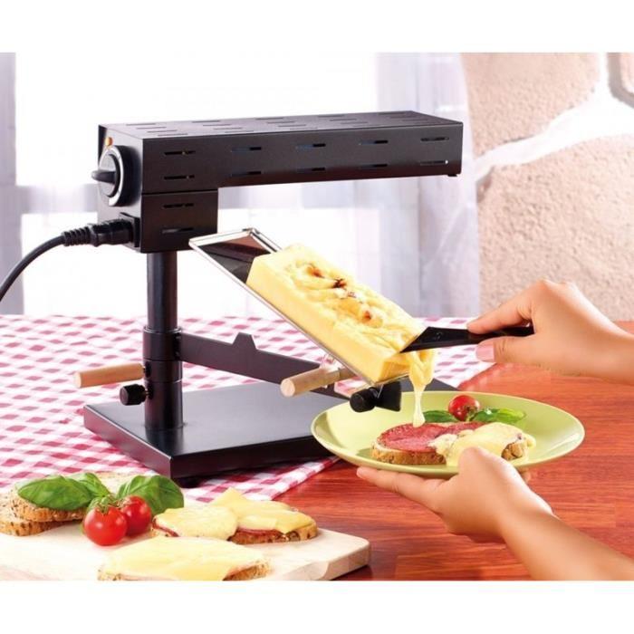 appareil à raclette traditionnel