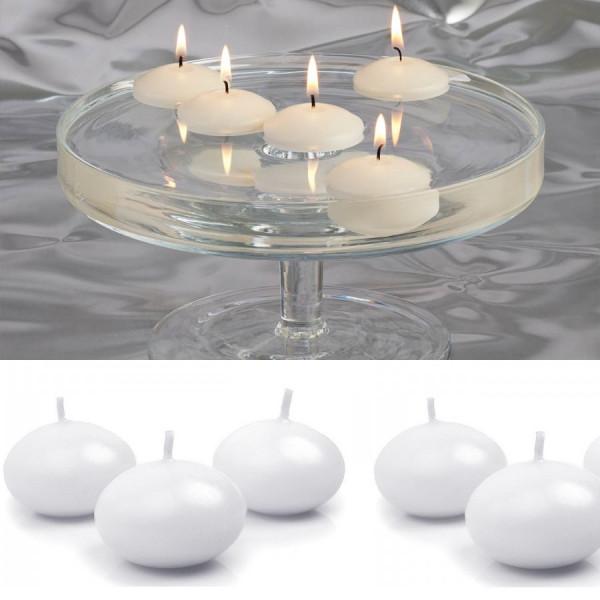 bougies flottantes