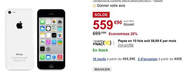 iphone solde