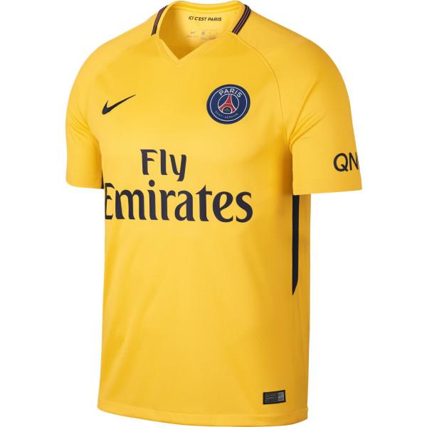 maillot psg jaune