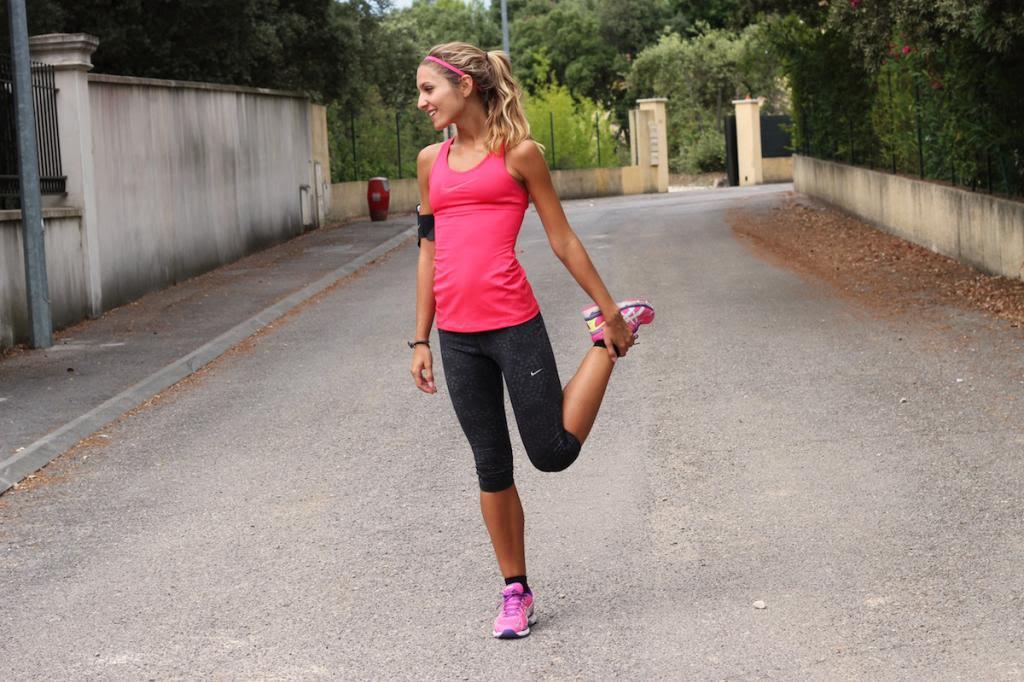 tenue course à pied femme