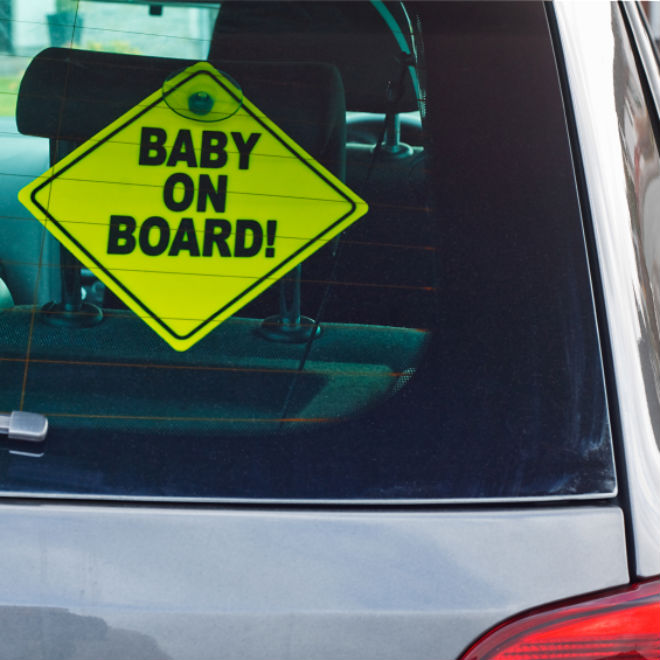a baby on board