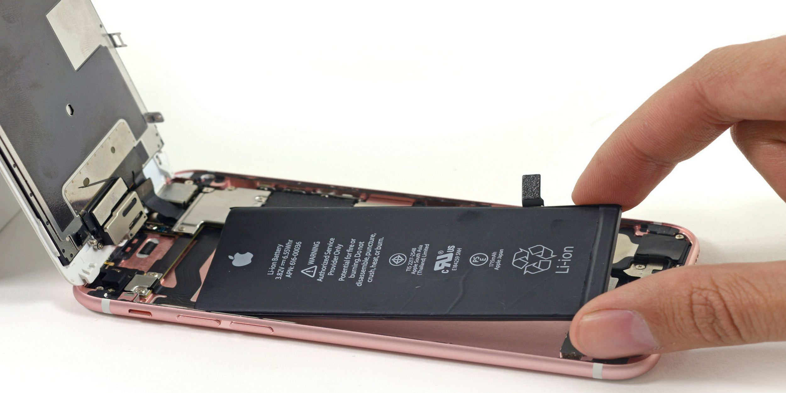 apple changement batterie