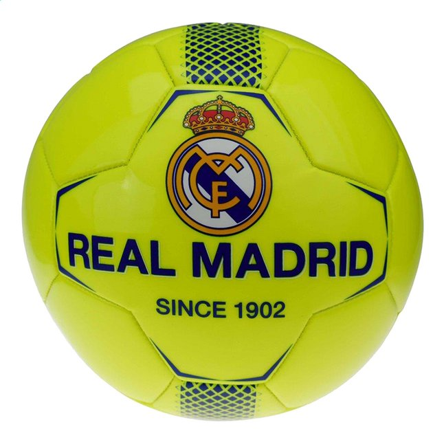 ballon de foot real madrid