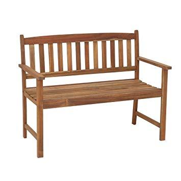 banc en bois extérieur
