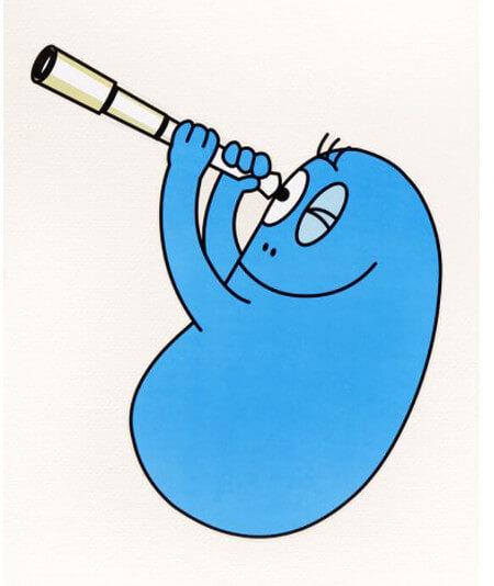 barbapapa bleu