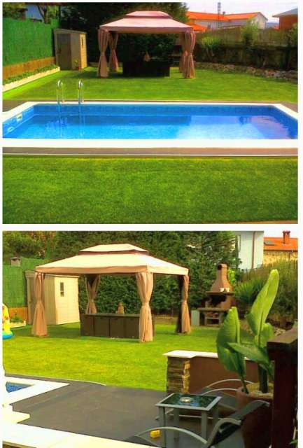 chalet jardin