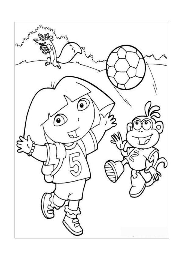 dessins dora