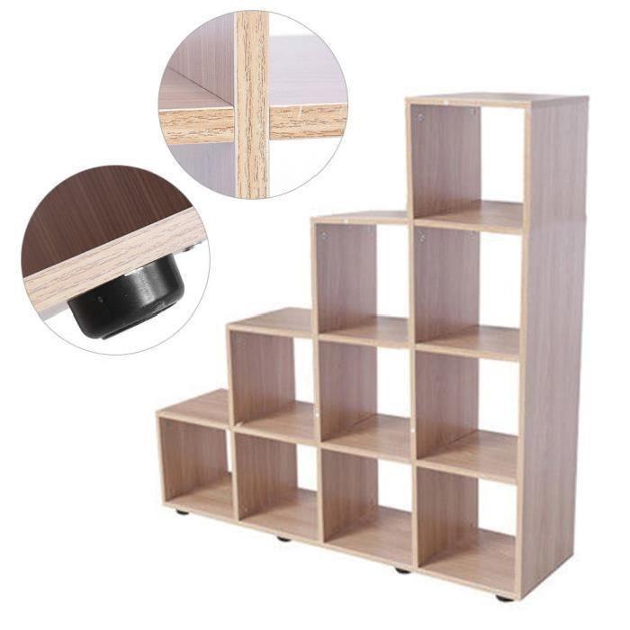 etagere escalier bois