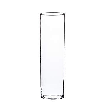 grand vase transparent