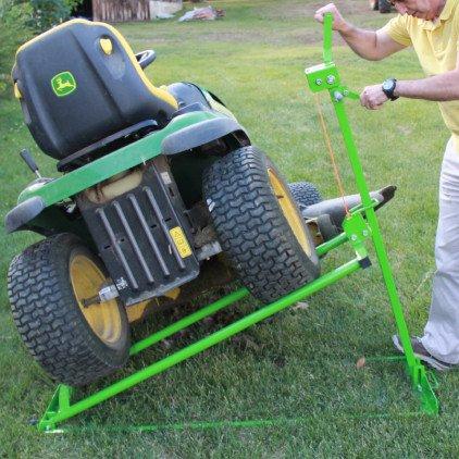 leve tracteur tondeuse