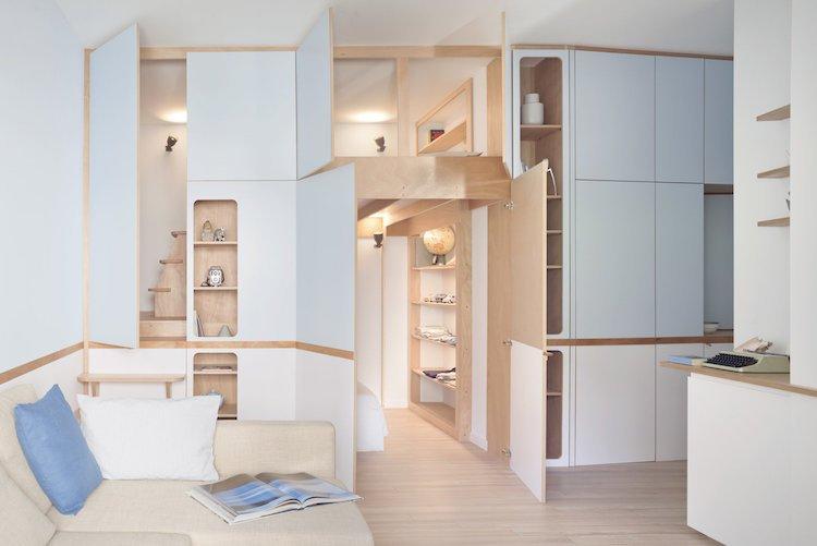 meuble multifonction pour studio