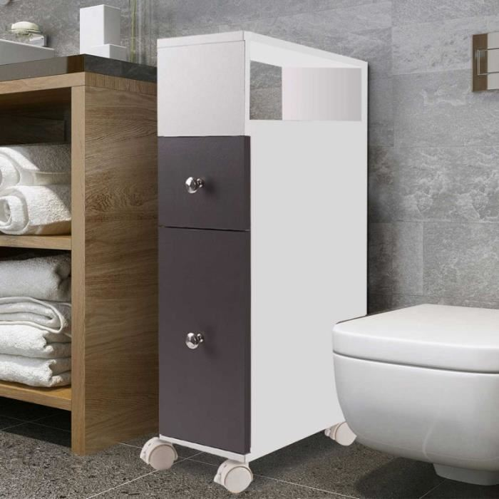 meuble rangement toilette