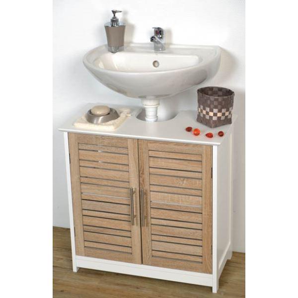 meuble salle de bain sous evier
