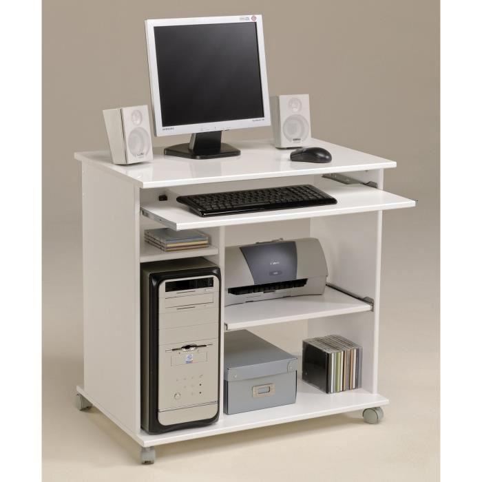 petit bureau pour ordinateur