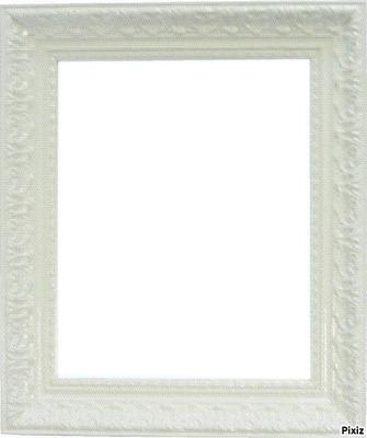 photo cadre blanc
