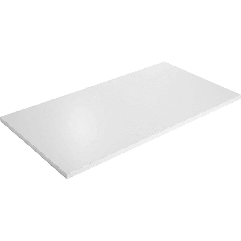 plateau blanc laqué