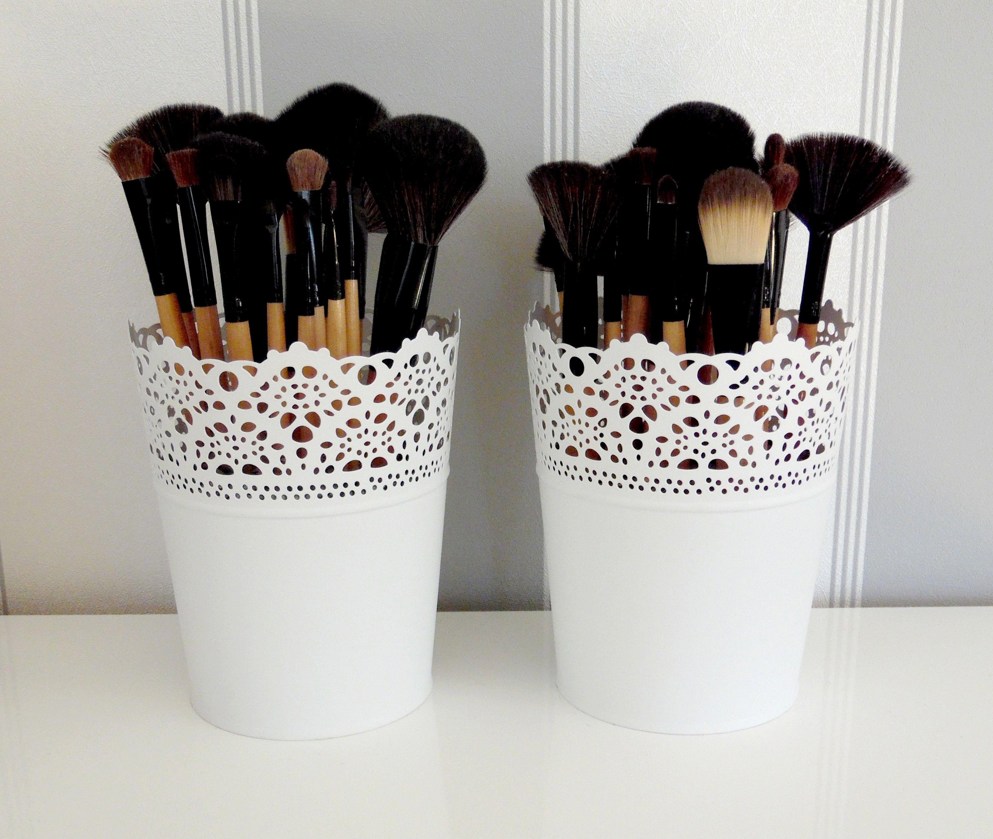 pot pour pinceaux maquillage