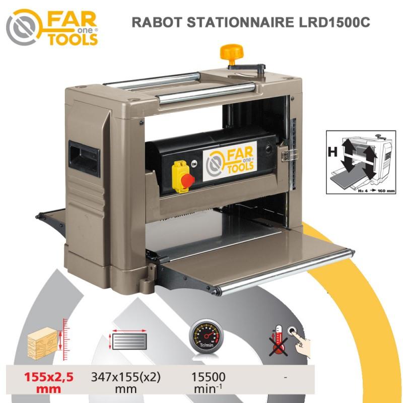 rabot stationnaire