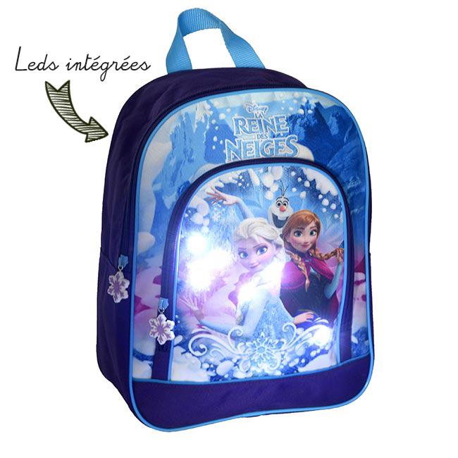 sac a dos la reine des neiges
