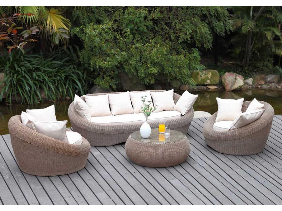 salon de jardin canapé