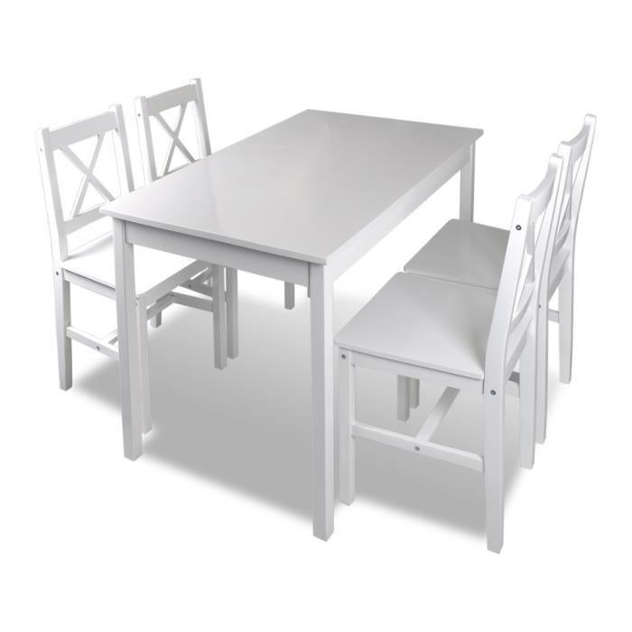 table cuisine avec chaise
