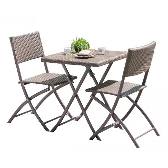 table et chaise pour balcon