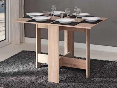 table salle a manger pliante