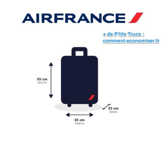 taille des bagages cabine