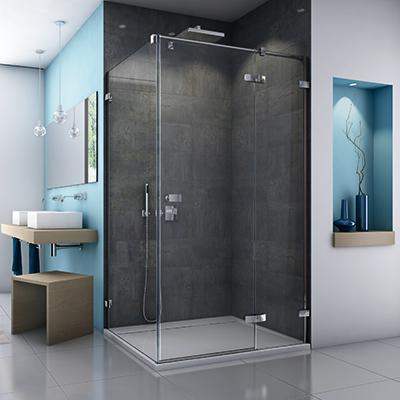 une paroi de douche