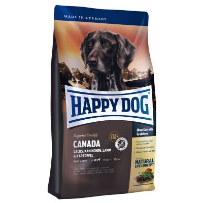 croquette happy dog