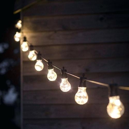guirlande ampoule exterieur