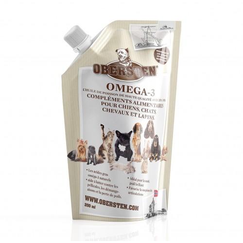 huile de poisson pour chien