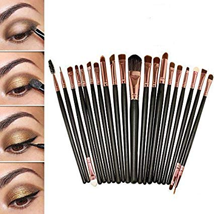 kit pinceaux maquillage yeux