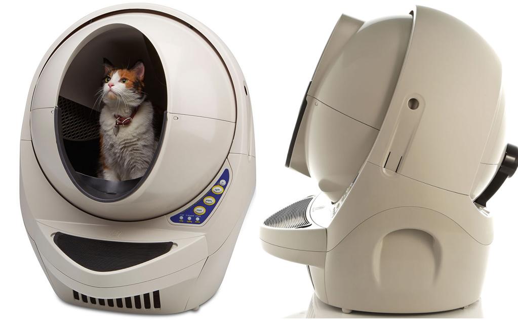 litiere chat autonettoyante