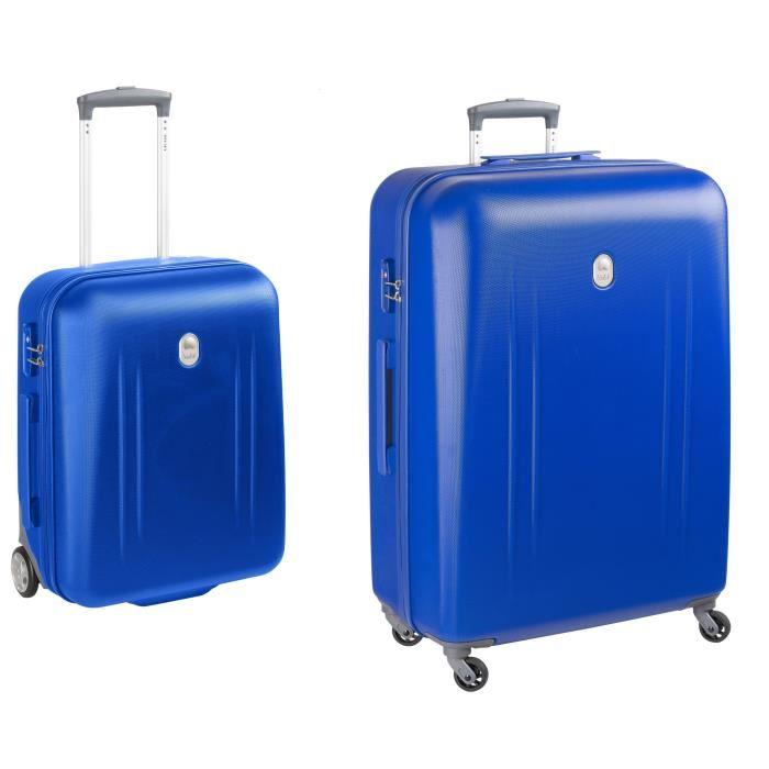 lot de 2 valises rigides