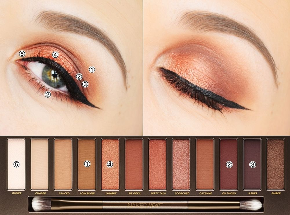 maquillage naked