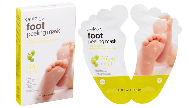 masque pour les pieds