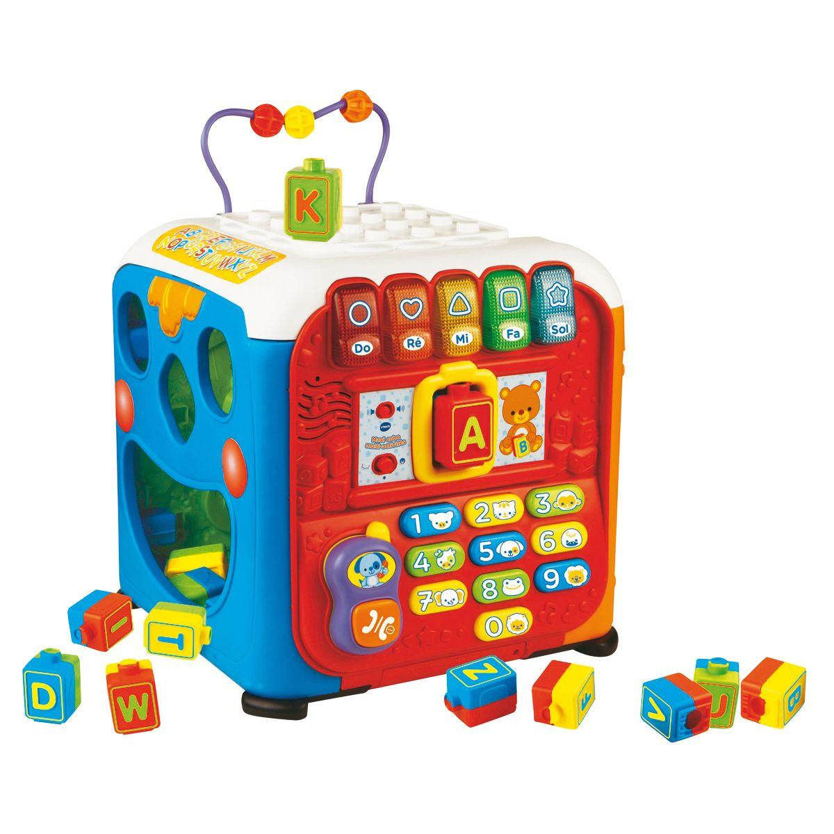 maxi cube multi activités vtech