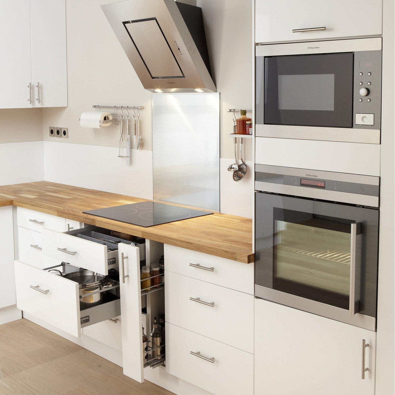 meuble de cuisine blanc