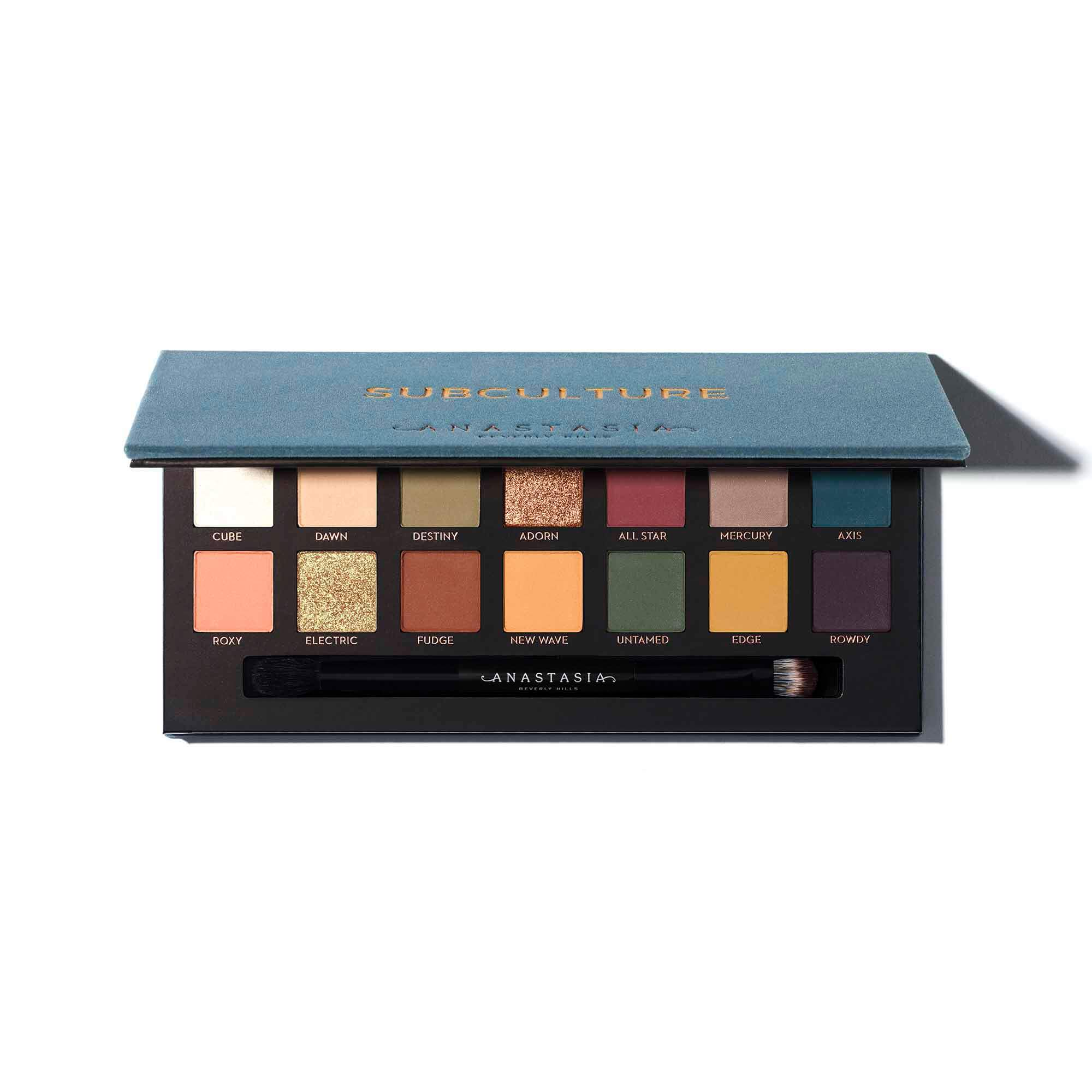 palette anastasia beverly hills subculture