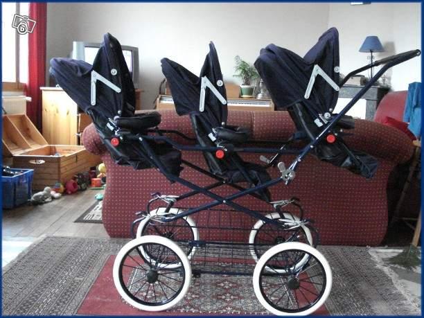 poussette pour triplés bébé confort