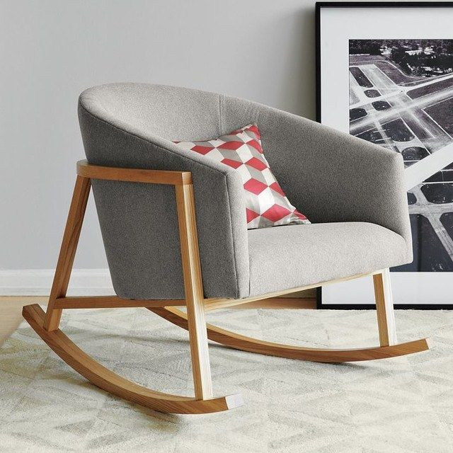 rocking chair moderne