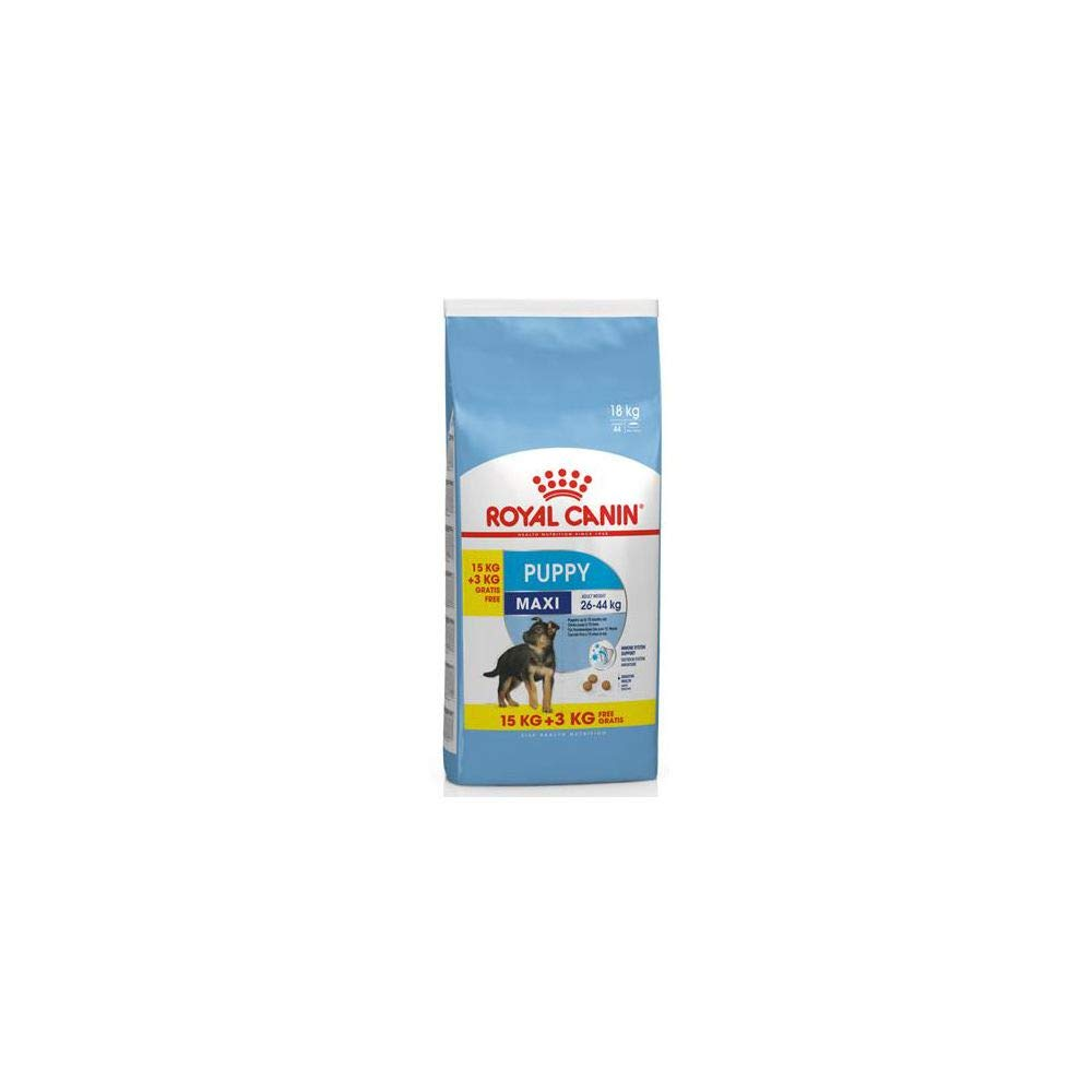 royal canin maxi junior 15kg 3kg gratuits