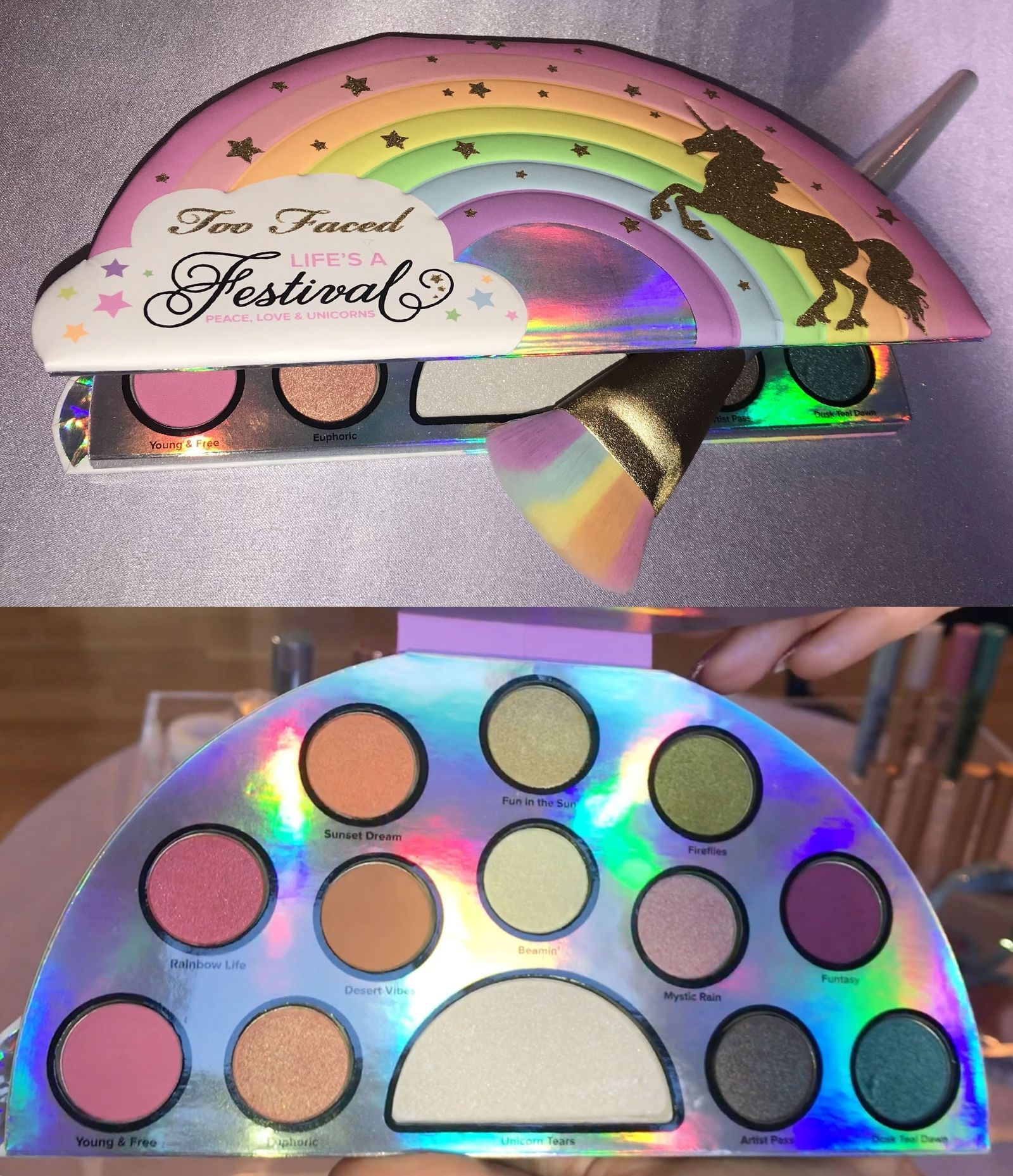 too faced licorne