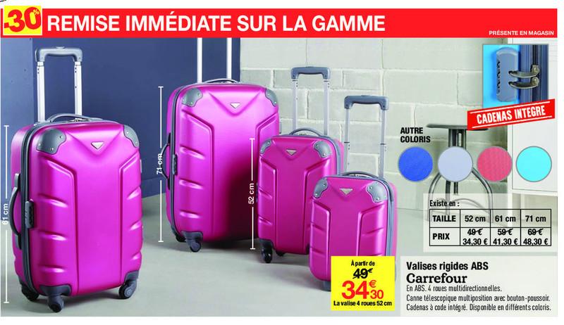 valise rigide leclerc