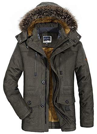 veste chaude homme