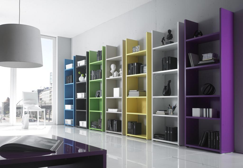 bibliothèque meuble design