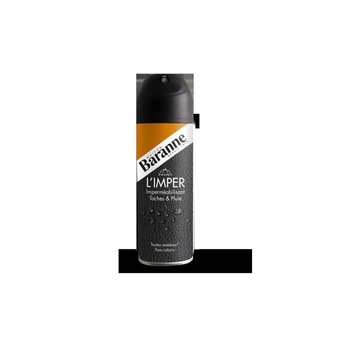 bombe imperméabilisante cuir
