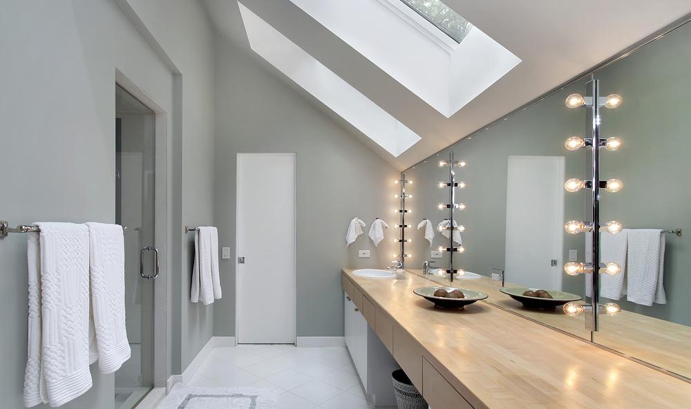 eclairage de salle de bain